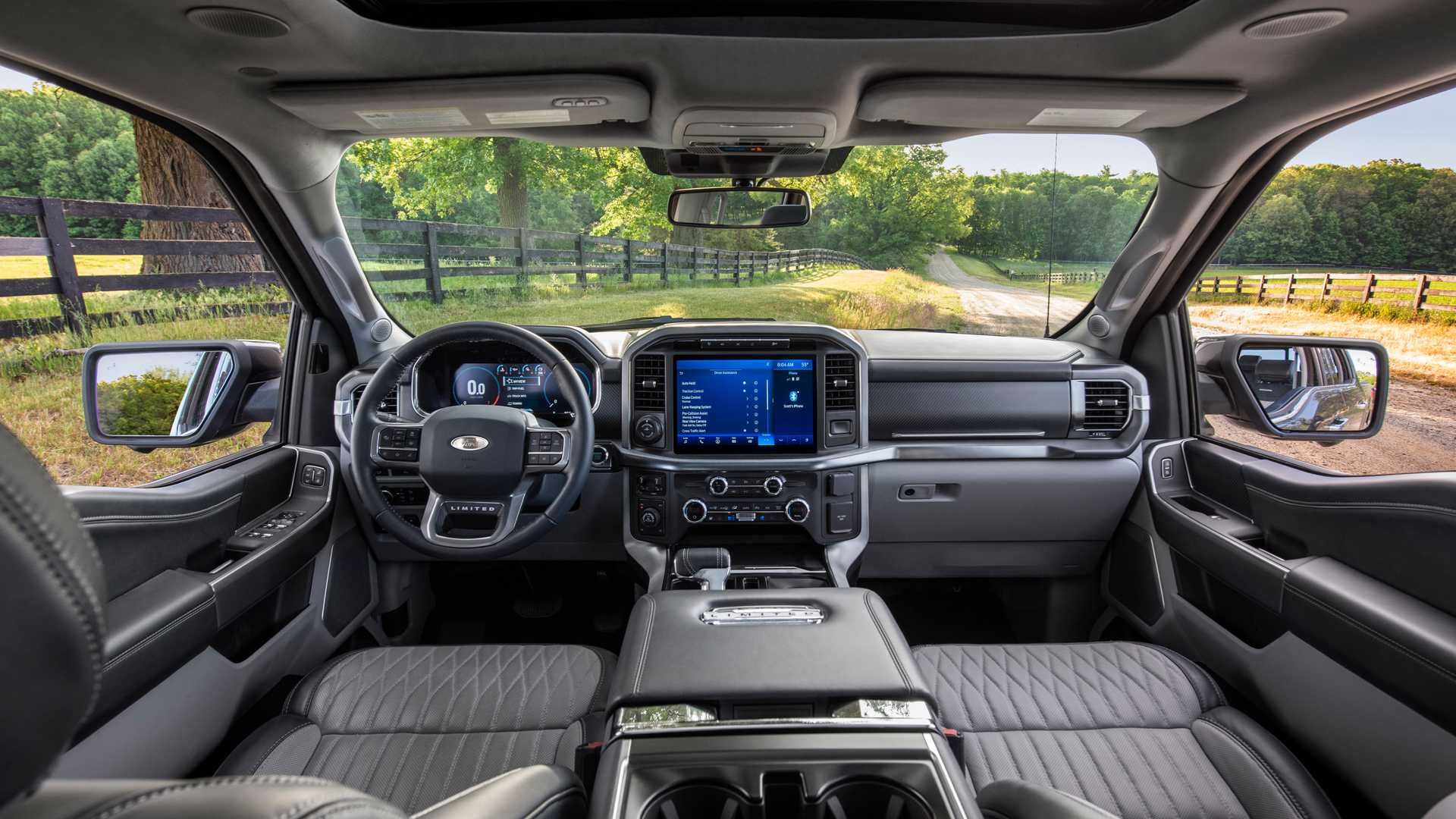 2021 Ford F 150 Display Screens Look Amazing In New Video 1920x1080