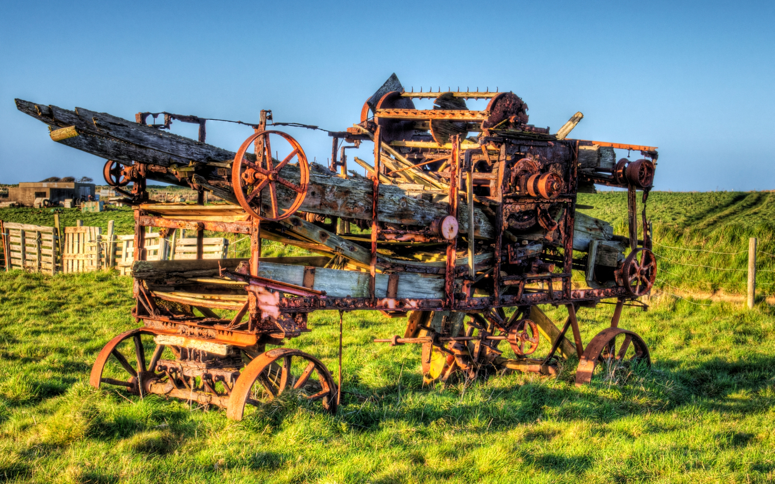 4 Farm Machinery HD Wallpapers Backgrounds 2558x1600