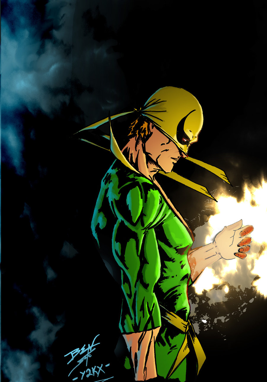 27+ Iron Fist Wallpaper Iphone PNG
