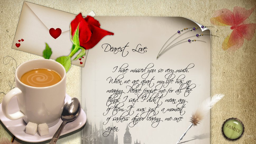 My Wife Wallpaper WallpaperSafari – Love Letter to My Wife