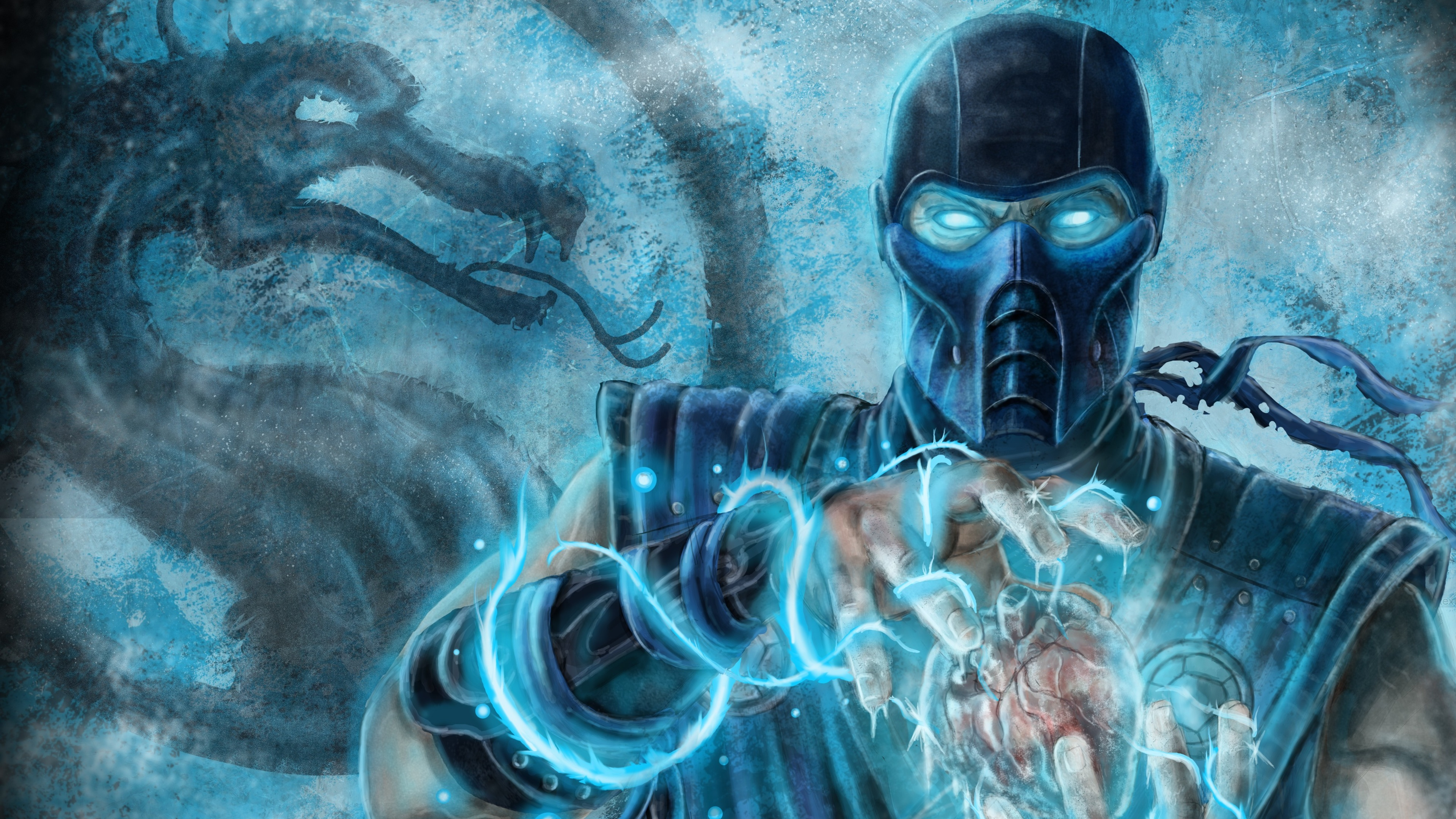 Free Download Sub Zero Mortal Kombat 4k Ultra Hd Wallpaper 4k