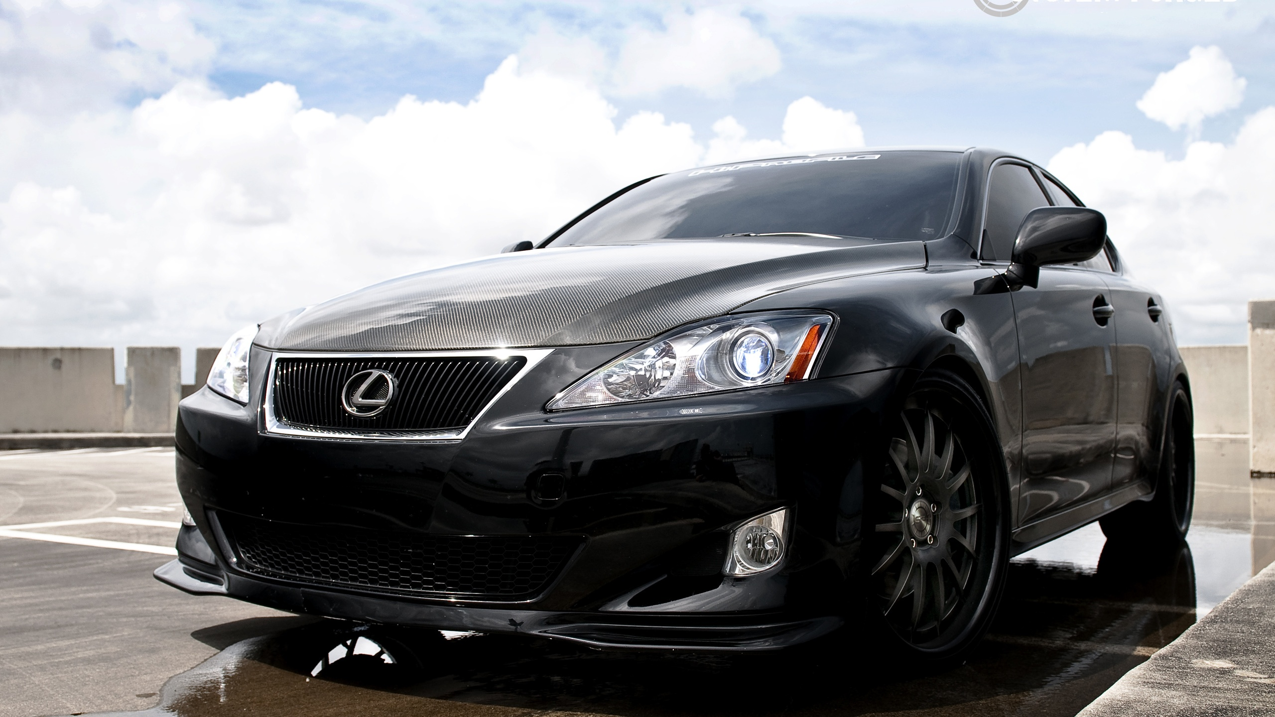 urlhttpcnbest wallpapernetLexus IS350 black car 2560x1440html 2560x1440