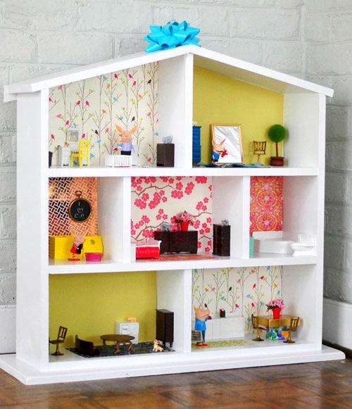 Dollhouse Kitchen Wallpaper: DIY Dollhouse Wallpaper