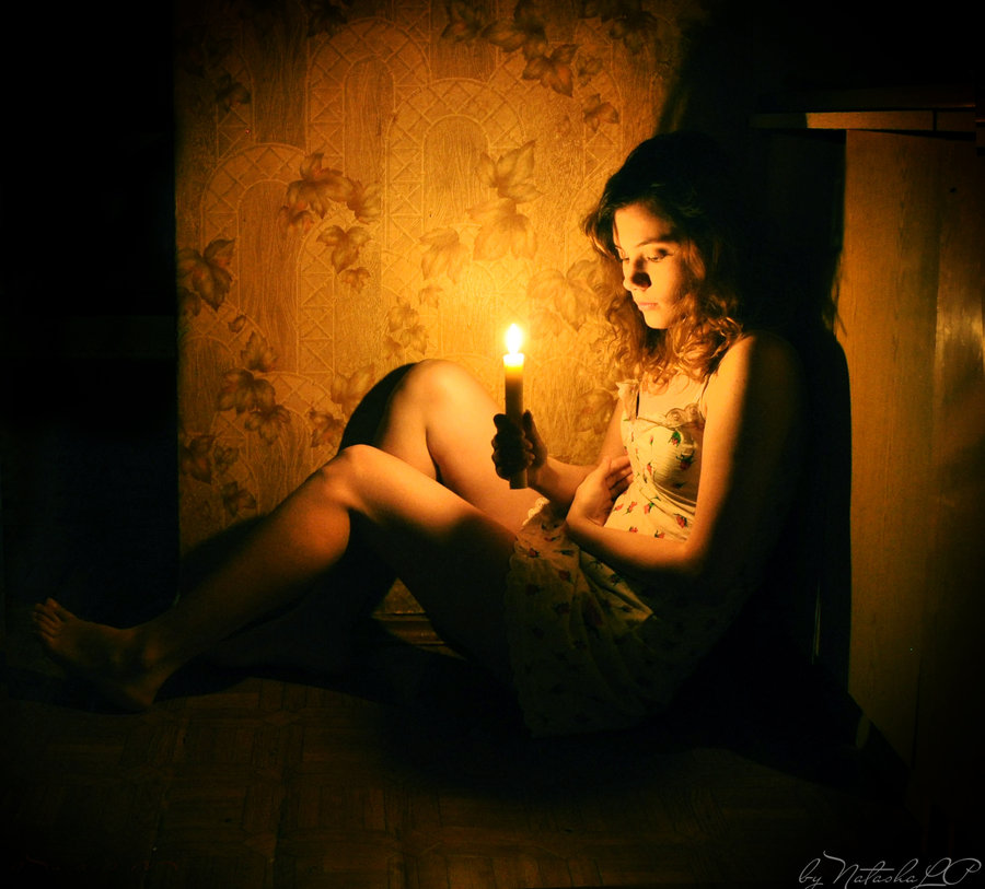 Fear not the flame of my loves candle by NatashaLP 900x813