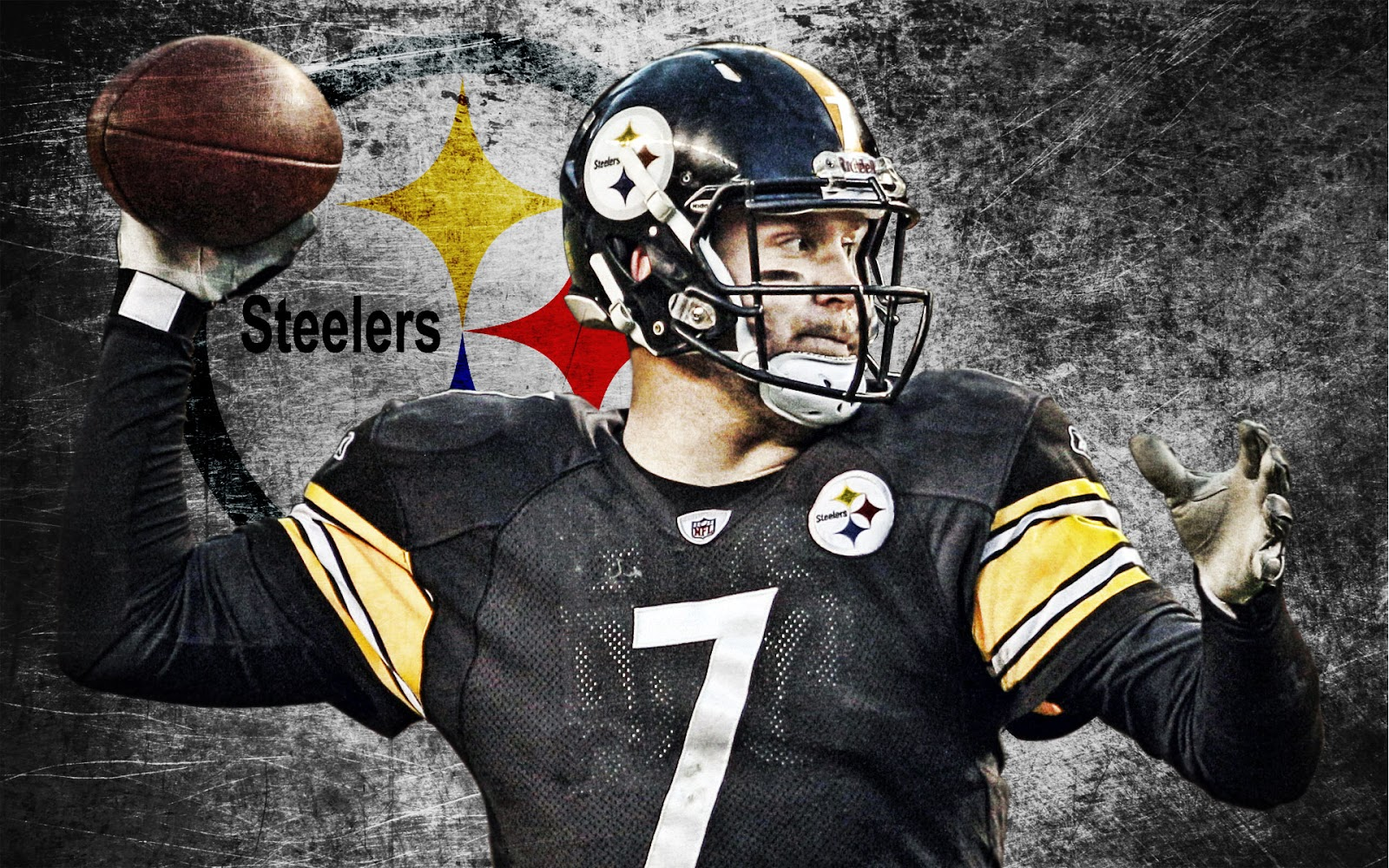 Wallpaper Back To Steelers Main Page Pittsburgh Steelers Helmet 1600x1000