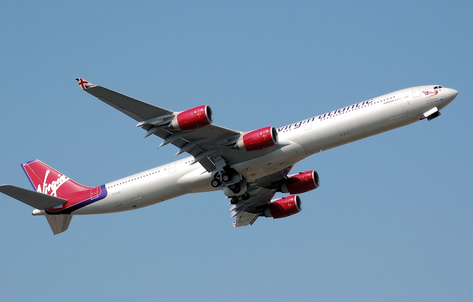 Airbus A340 600 Virgin Atlantic New Livery Aircraft Wallpaper 2624 1600x1023