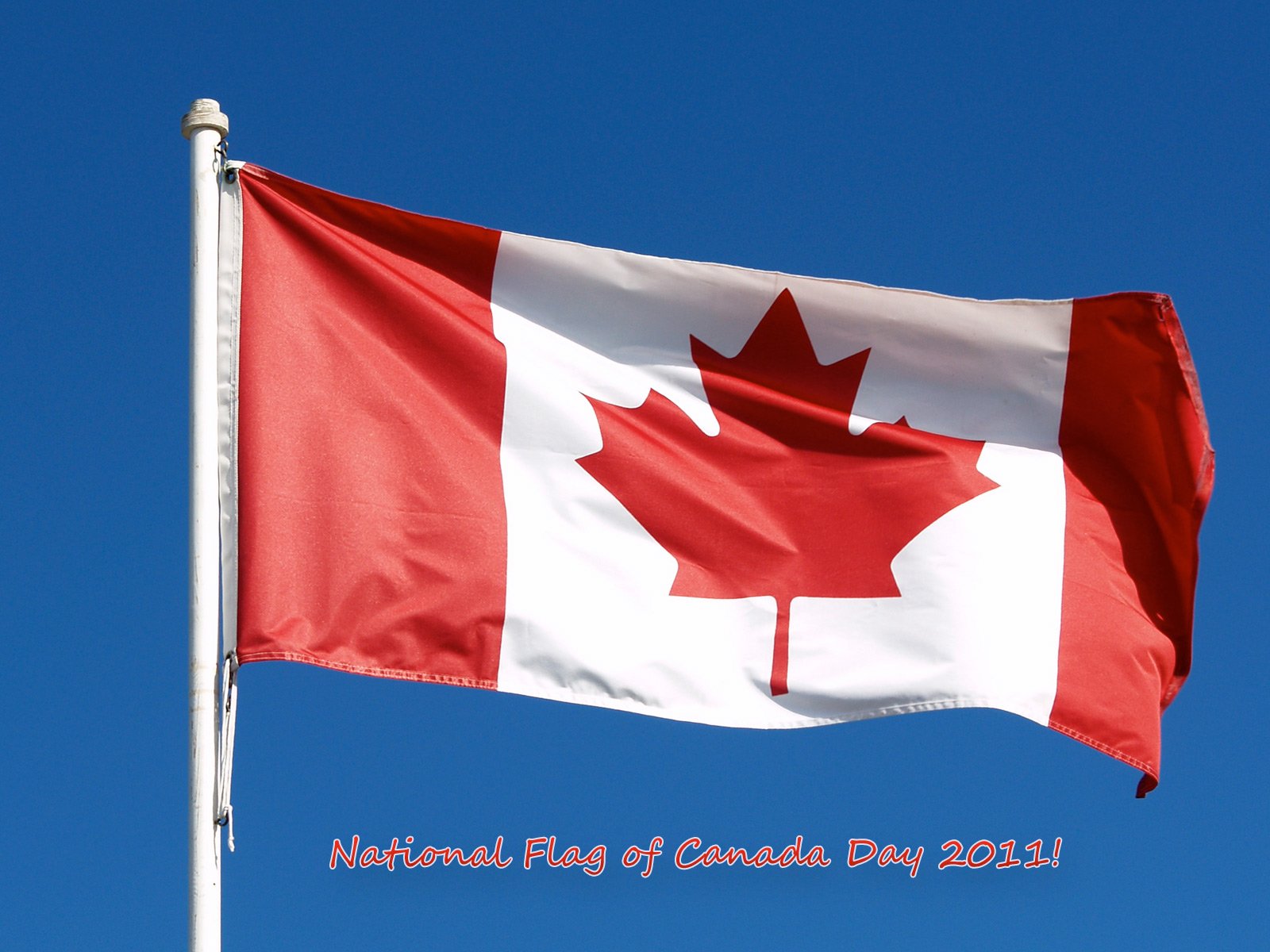 National Flag Of Canada Day 2011 computer desktop wallpapers 1600x1200