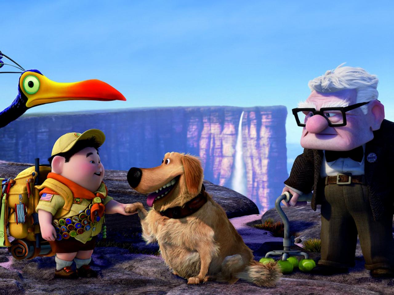 UP 3D Movie Pixar Studios HD Wallpapers Cartoon Wallpapers 1280x960