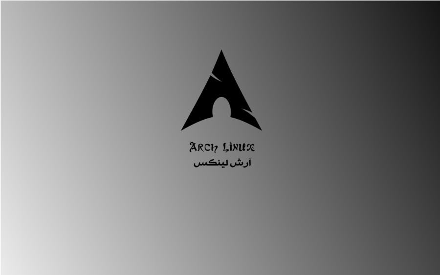 Black Arch Wallpaper English Arabic by samiuvic 900x563
