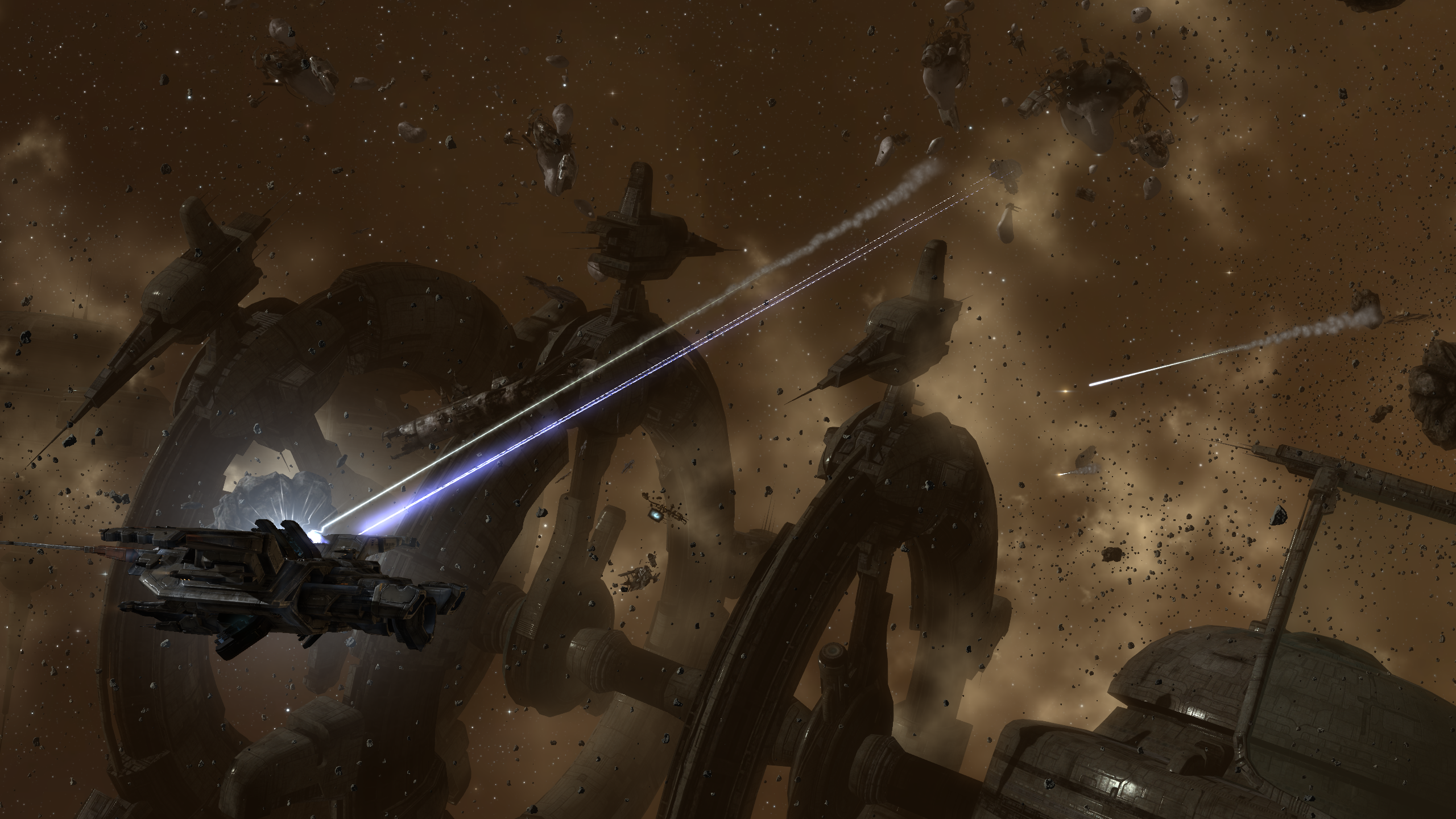 EVE Online, Space, Science Fiction, Spaceship, War, Video ...