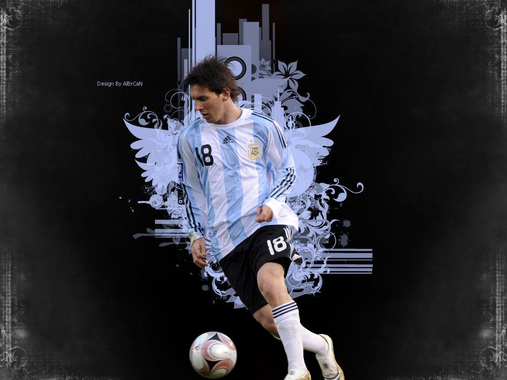 Wallpapers Lionel Messi 2015 1024x768