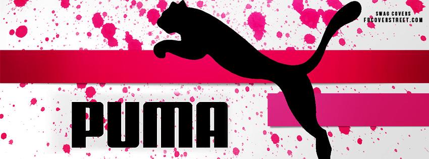Puma Pink Logo Wallpaper 850x315