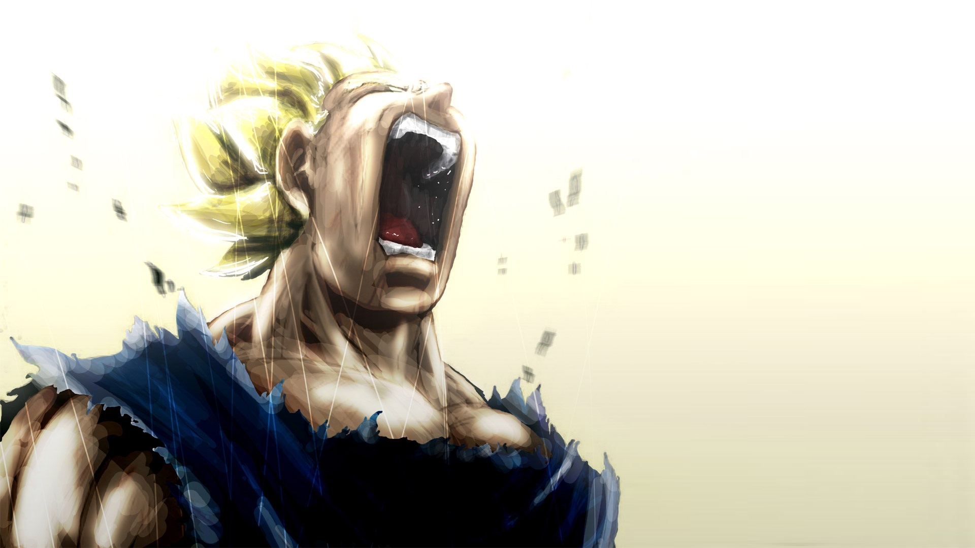 Vegeta Super Saiyan Cry 1920x1080