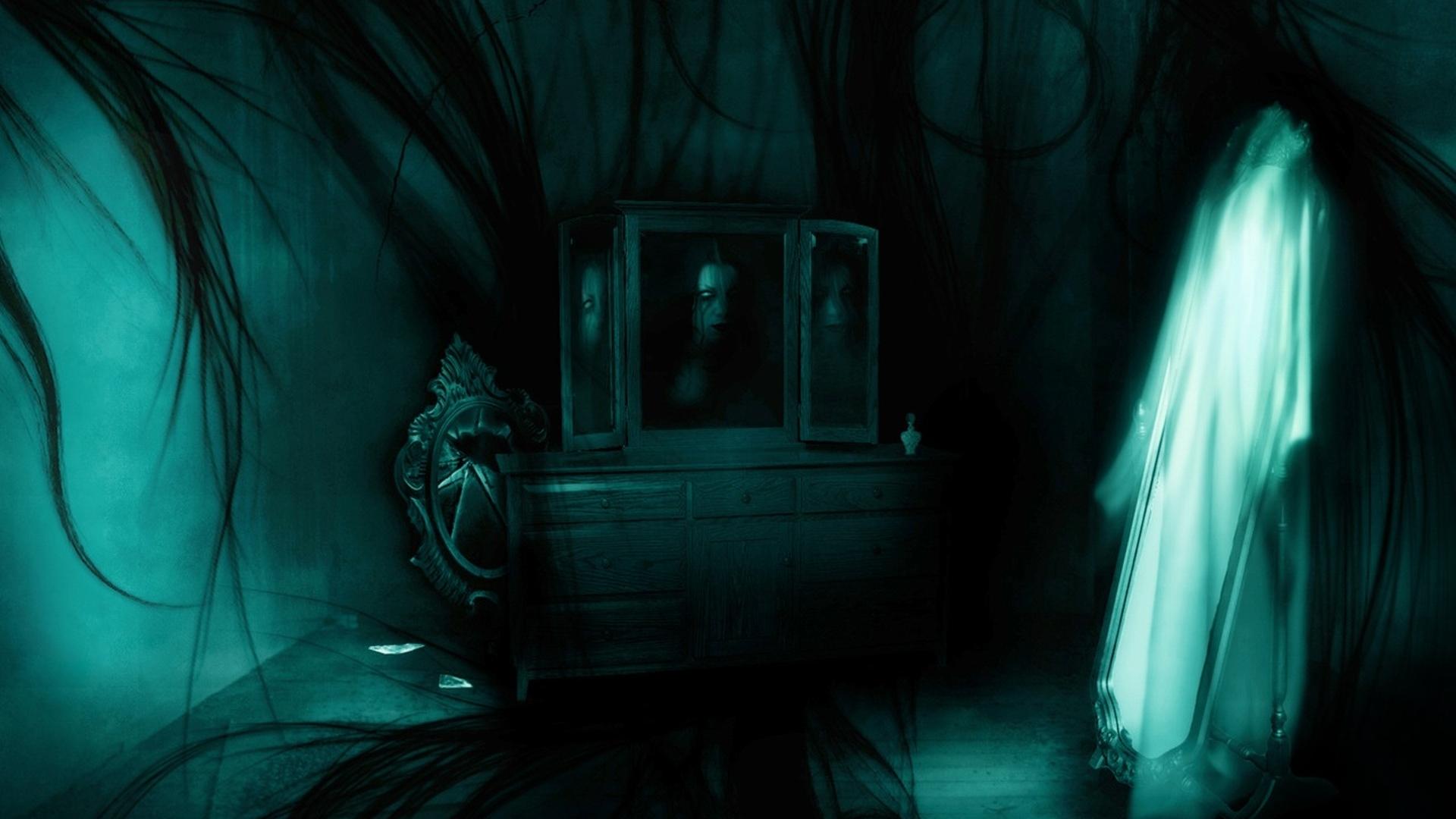 Dark Ghost Wallpaper 1920x1080 Dark Ghost 1920x1080