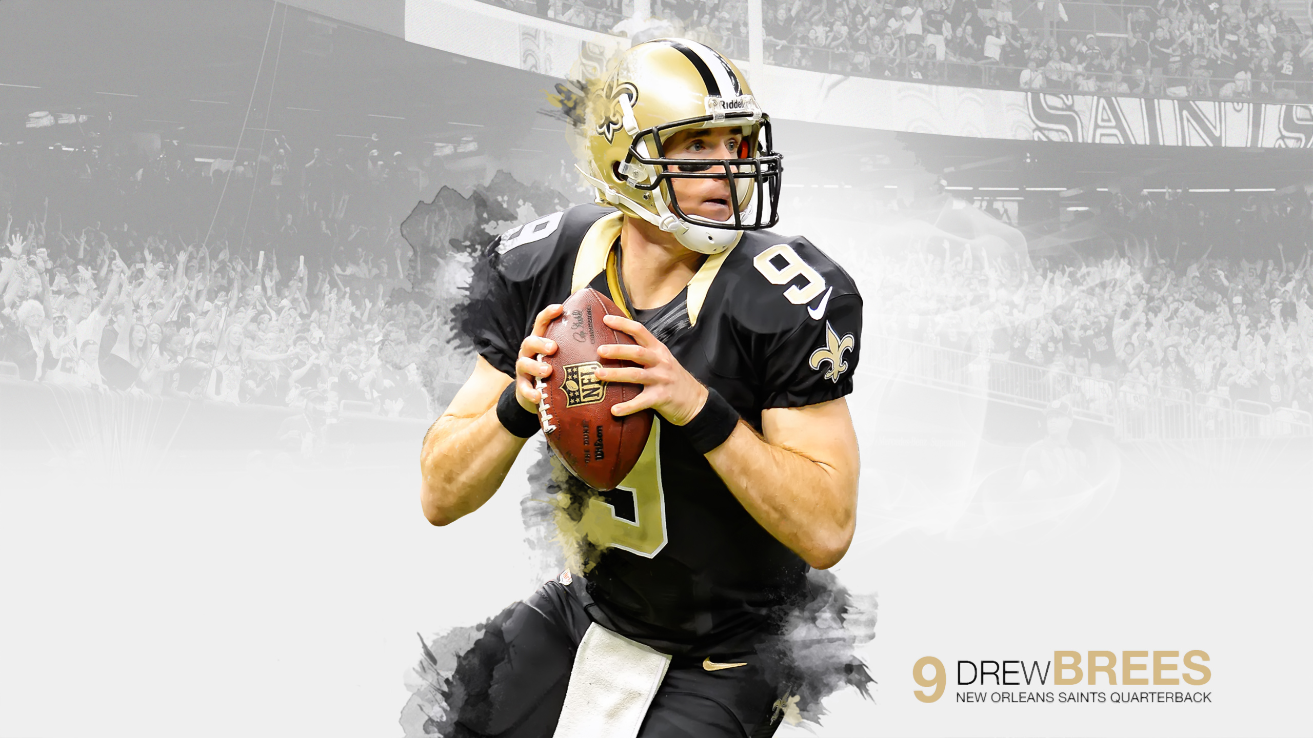 Drew Brees Wallpapers High Quality Download 2560x1440