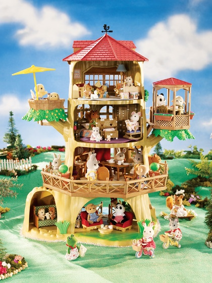 Calico Critters Country Tree House 420x560