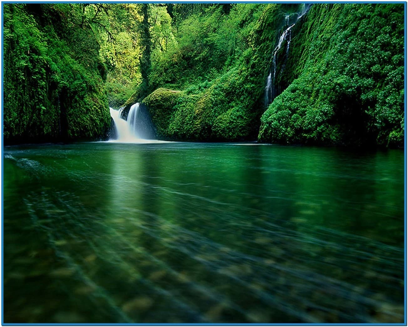 Waterfall screensaver pc   Download 1303x1047