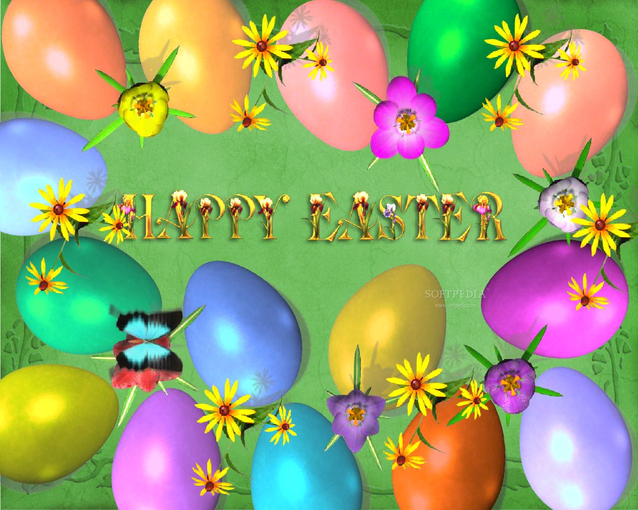 Image gallary 5 Beautiful Happy Easter Wallpapers for Desktop 1280x1024