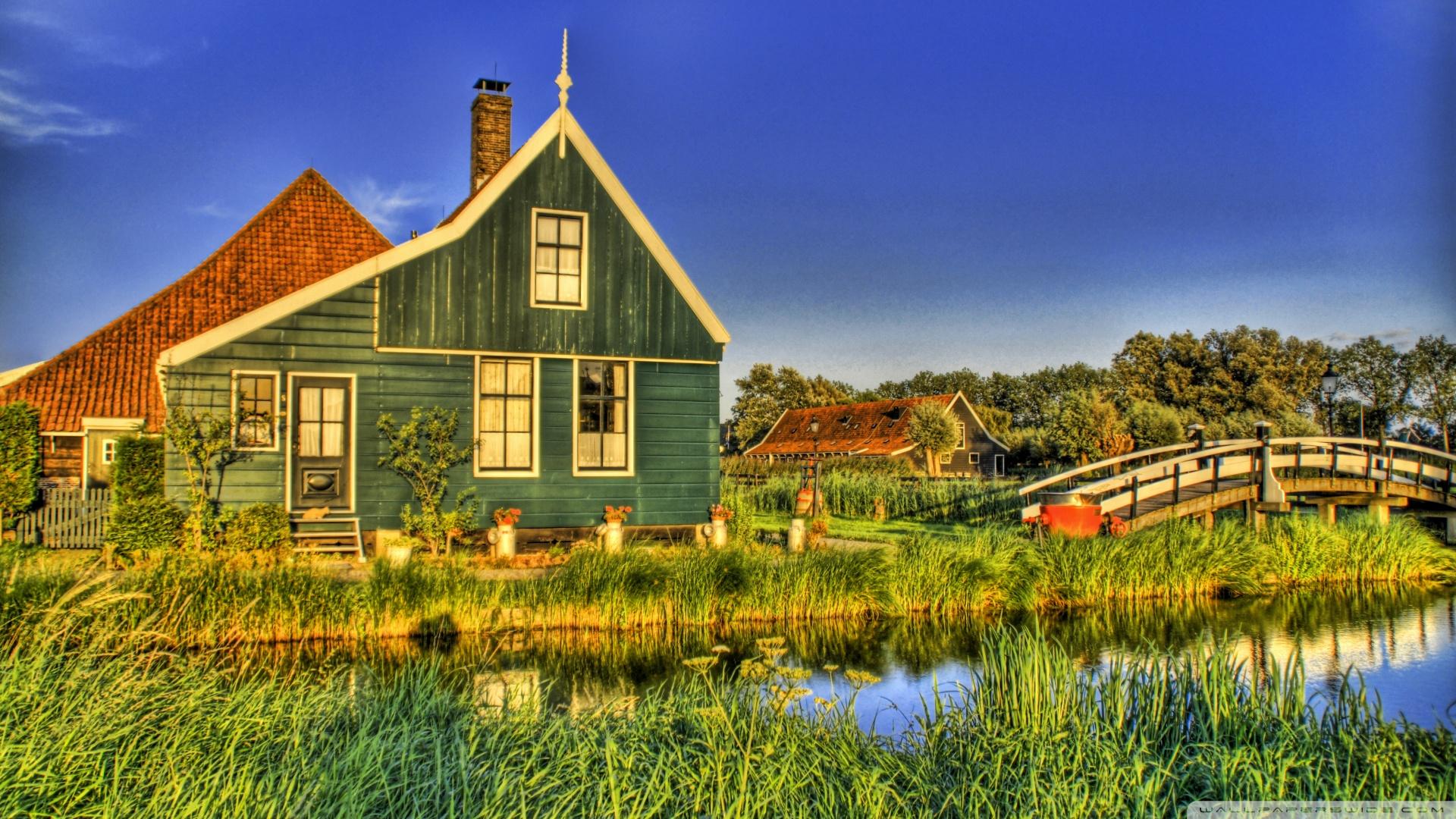 Holland Farmhouse Wallpaper 1920x1080 Holland Farmhouse 1920x1080