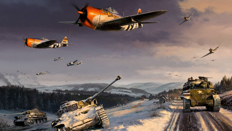 p47 the battle for the ardennes sherman world war ii p38 970x550