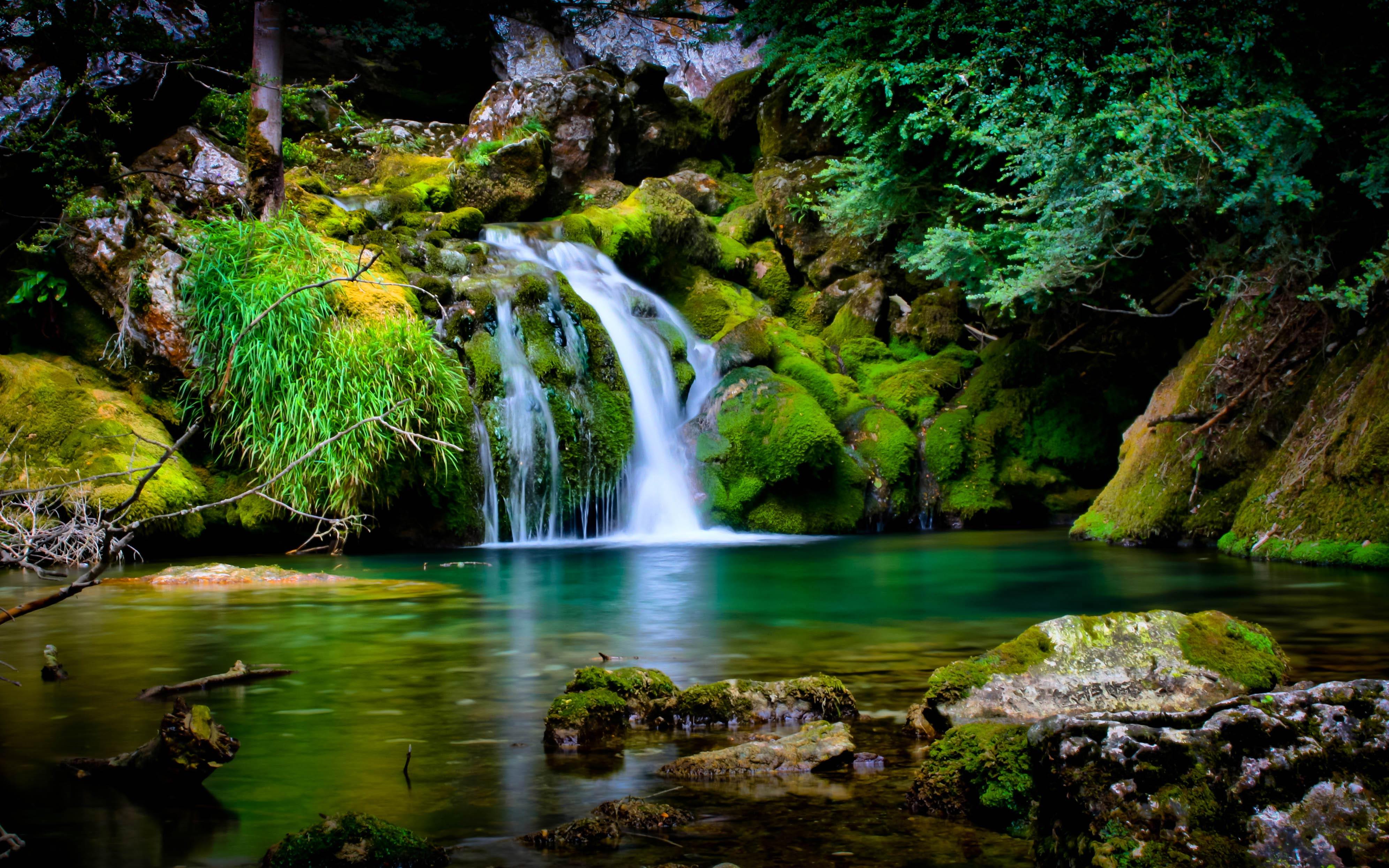 Waterfall 728 Wallpaper Wide Screen Wallpaper 1080p2K4K 3984x2490