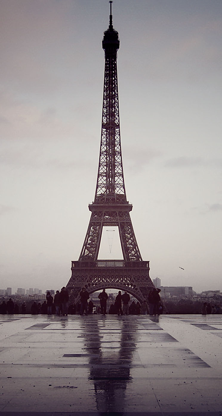 Eiffel tower paris france wallpaper wallpapersafari - Paris eiffel tower desktop wallpaper ...