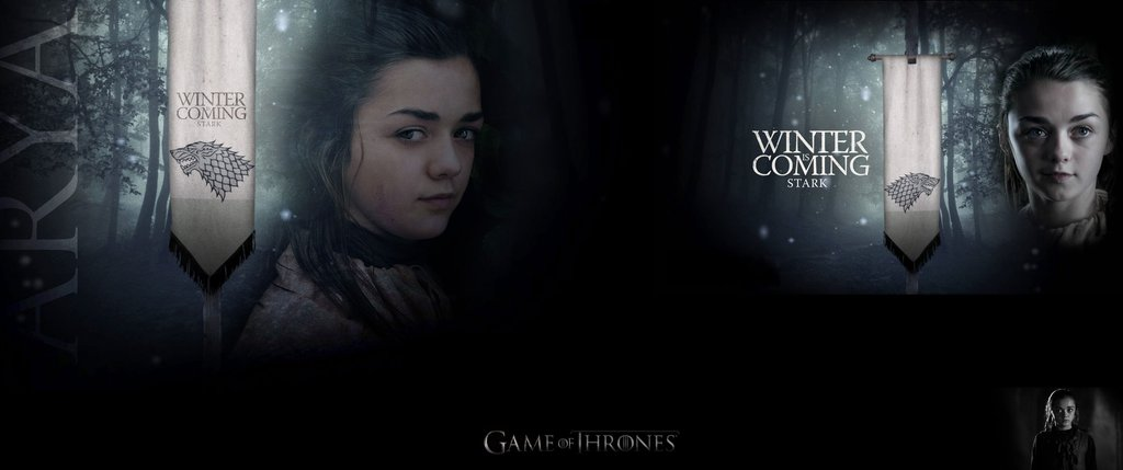 Wallpaper 3440x1440 Game Of Thrones Arya 14125135 by MrIreheart on 1024x429