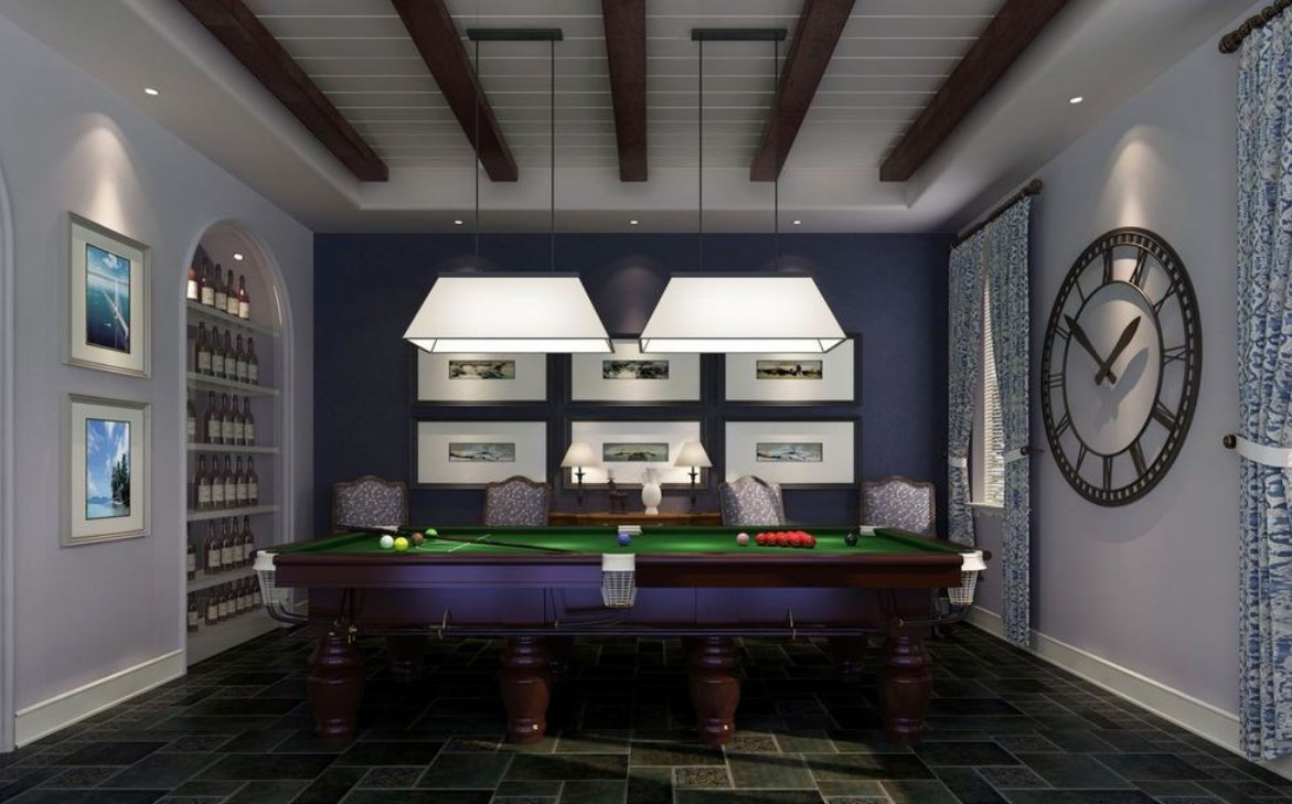 Awesome Billiard Room Decorating Ideas Ideas Design And . Best ...