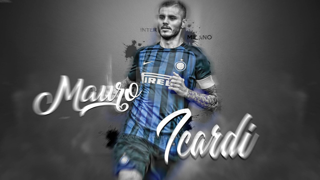 Mauro Icardi WallPaper By AgustinEditions by AgustinEditions111 on 1024x576
