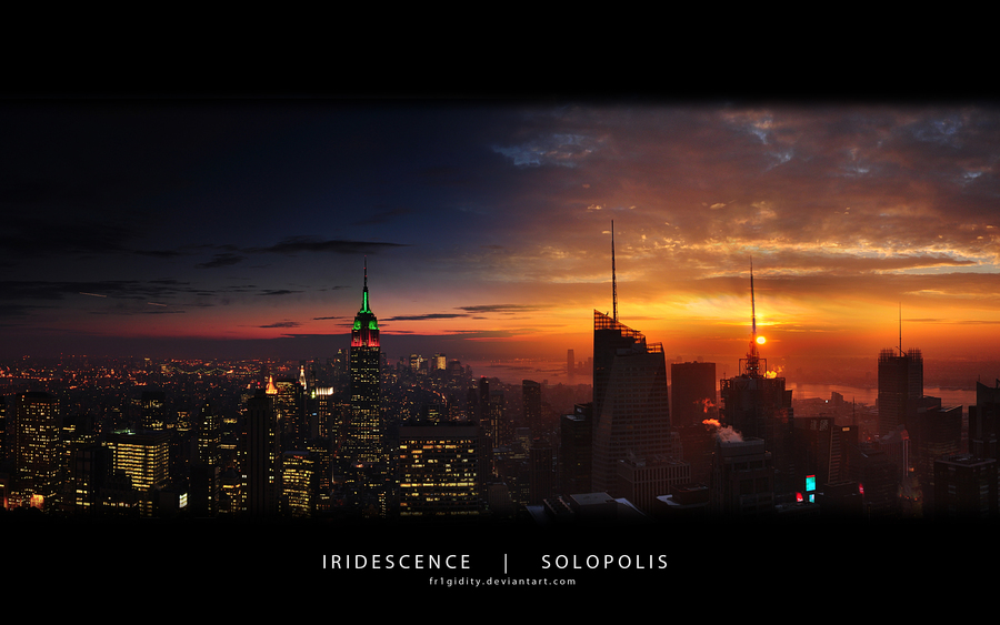 New York Empire State Panorama   Wallpaper High Definition High 900x563
