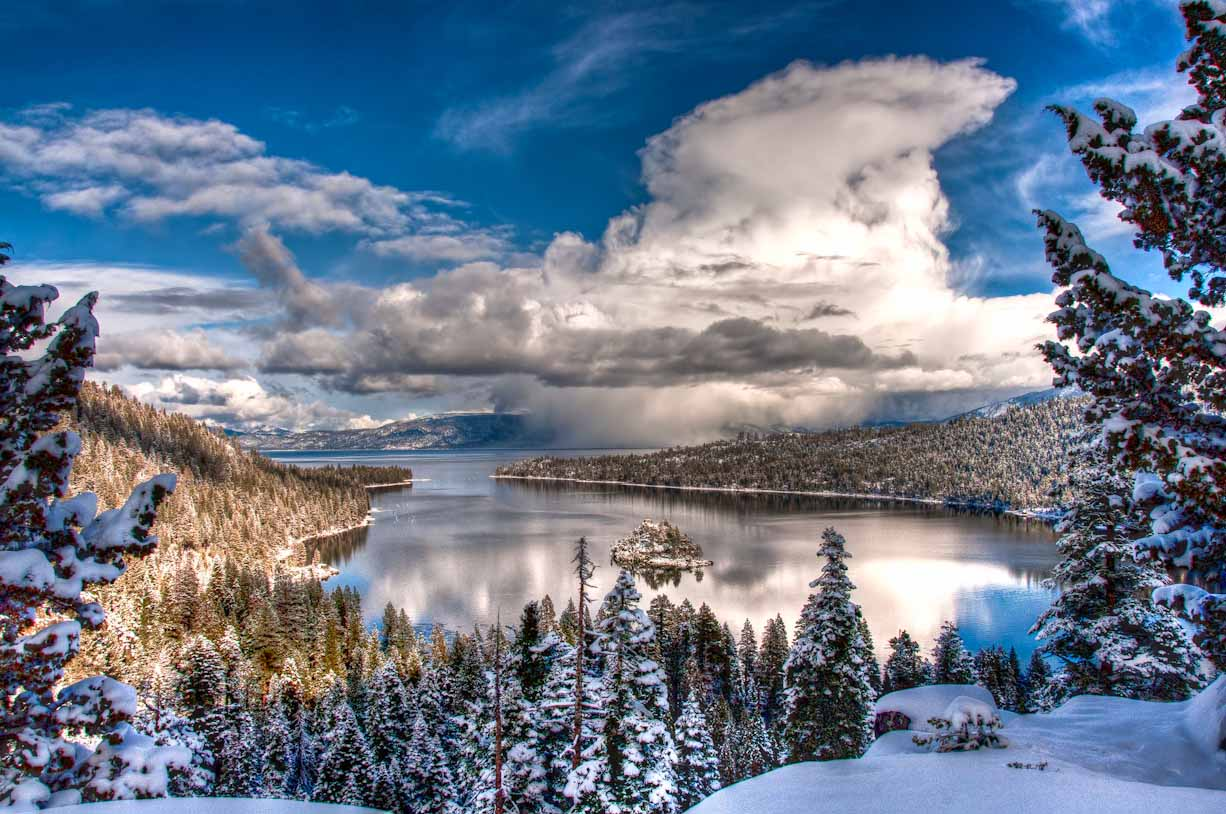 lake tahoe winter cabin wallpaper 1   SnowBrains 1226x814