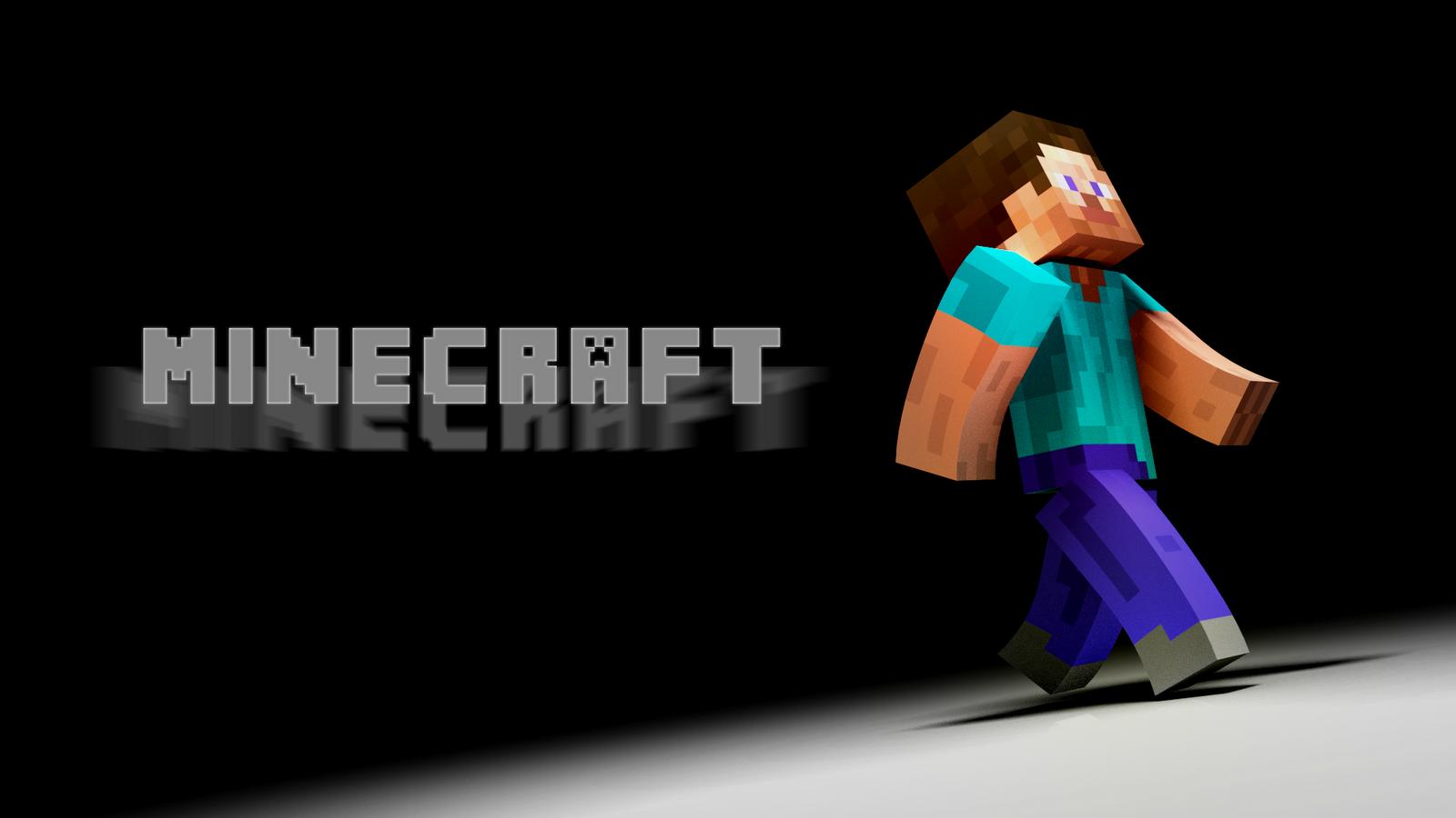 24 Hour Renders Minecraft Desktop Background 1600x900