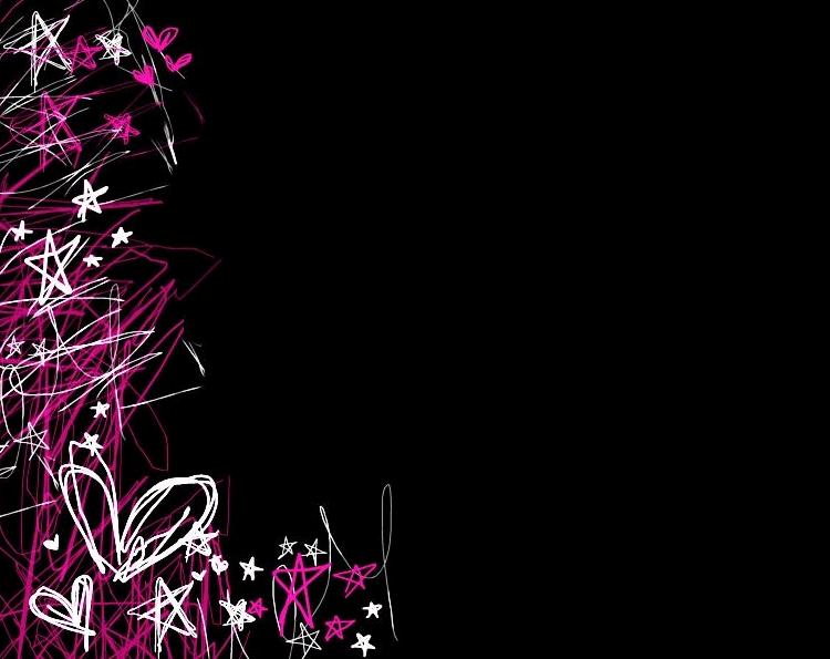 Pink And Black Glitter Backgrounds Glitter backgrounds pink and 750x595