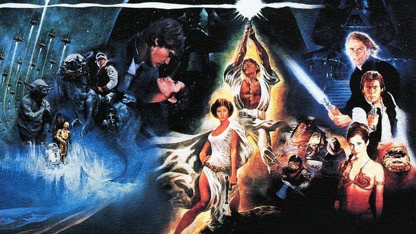 Resultado de imagem para star wars classic trilogy epic panel