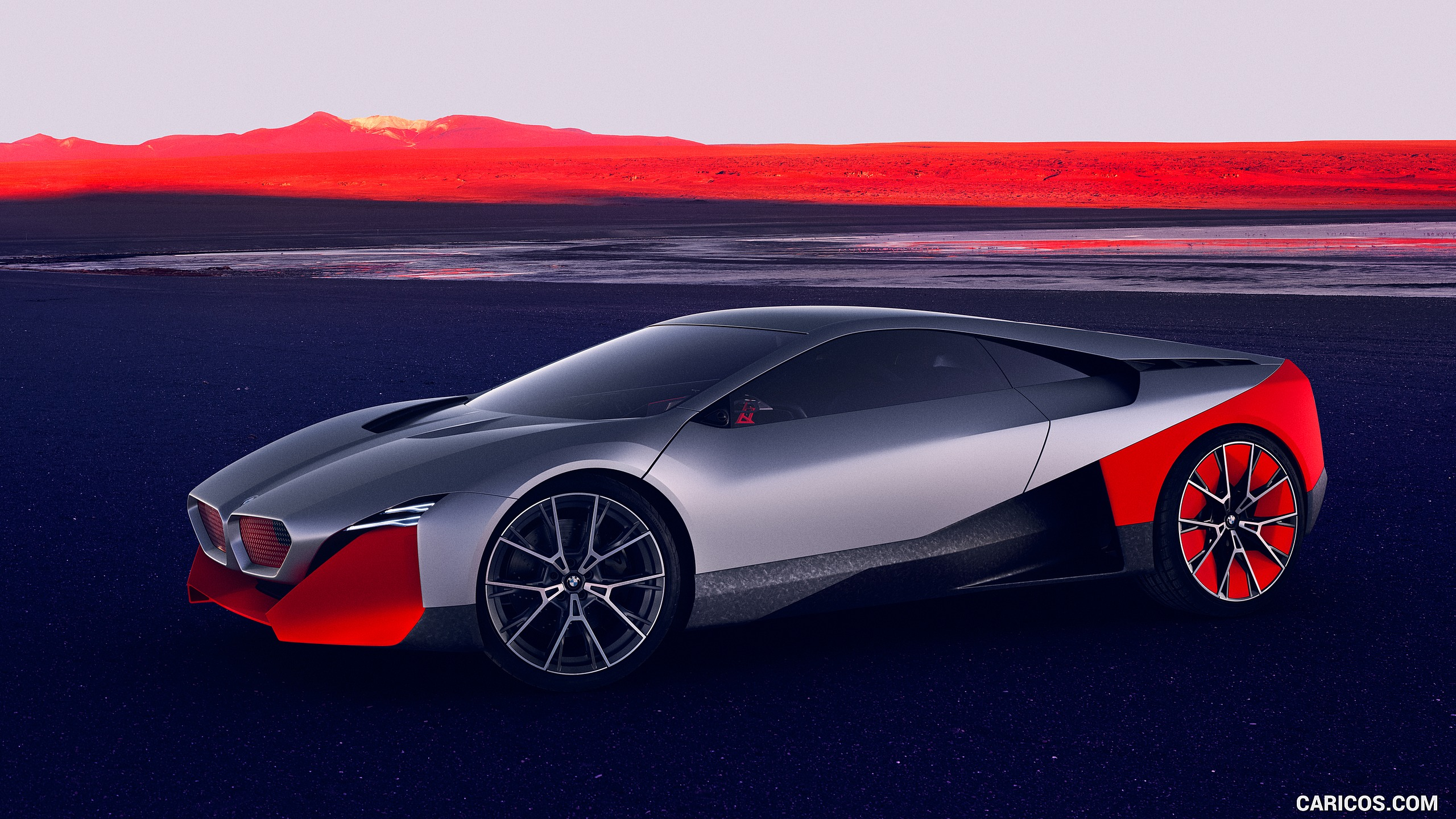 2019 BMW Vision M Next   Front Three Quarter HD Wallpaper 3 2560x1440