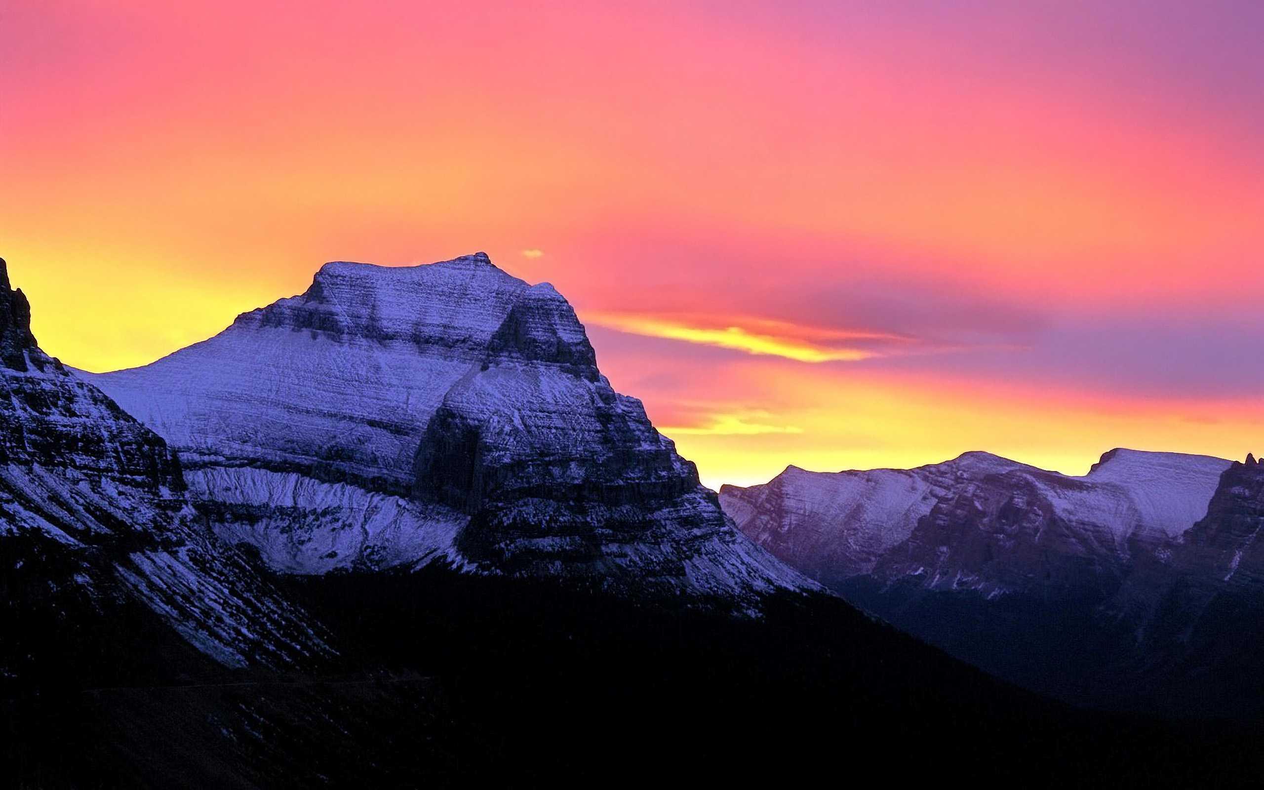 Mountain Glacier National Park Montana Wallpapers Photos Pictures 2560x1600