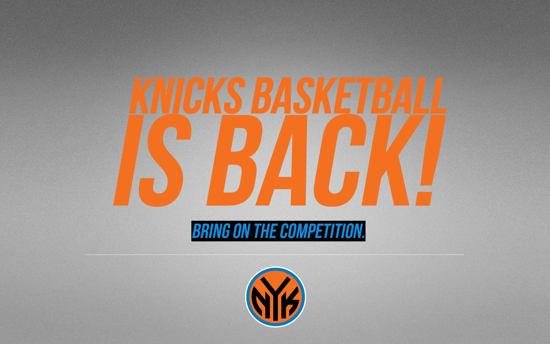 Free Download New York Knicks Logo Wallpapers Hd 1920x1200 For