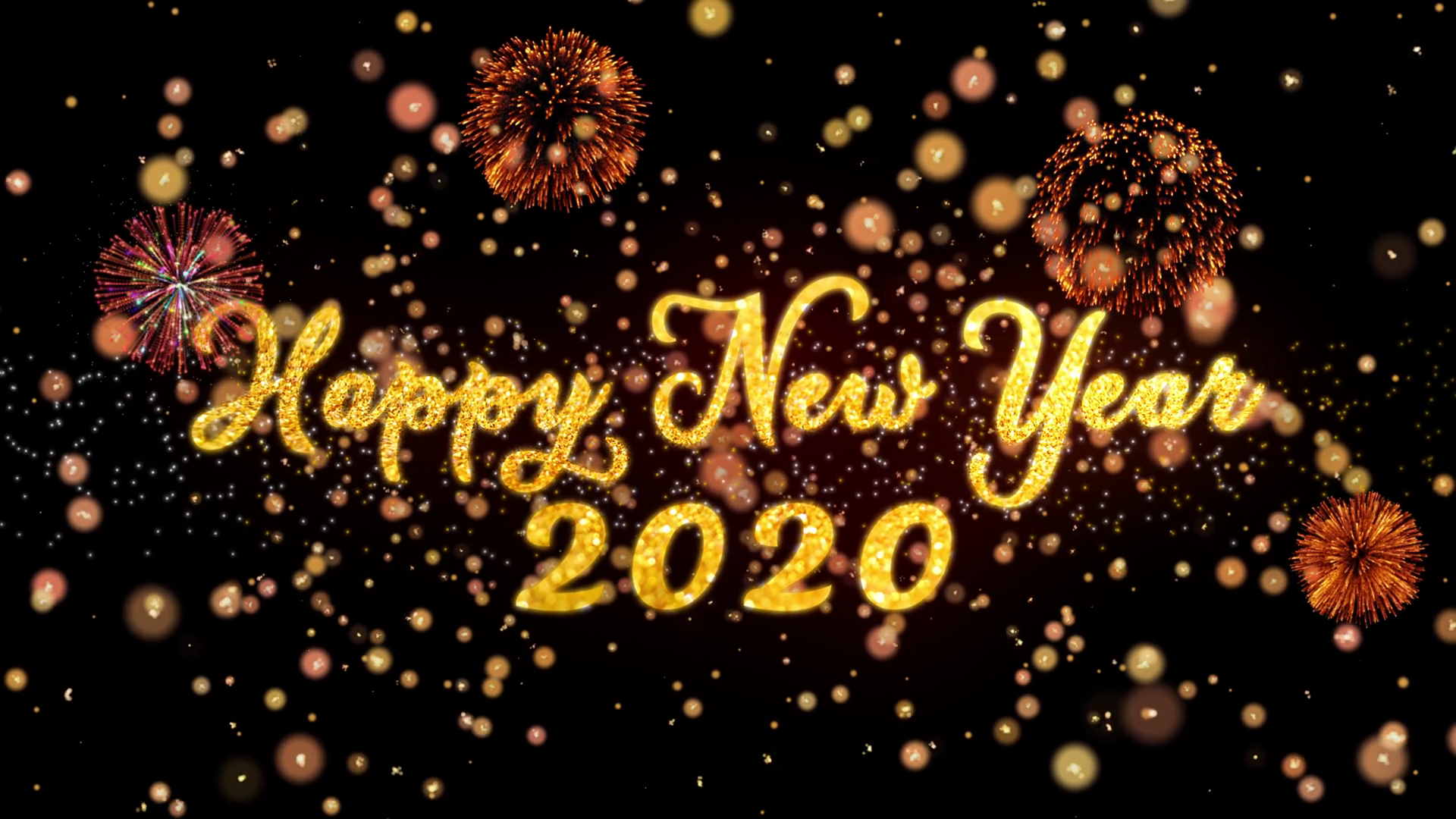 Happy New Year 2020 Wallpapers   Top Happy New Year 2020 1920x1080