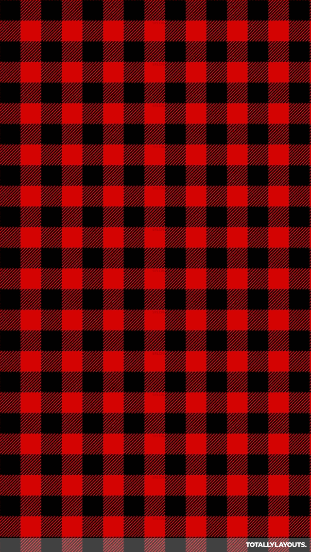 Red checked Wallpaper  Christmas phone 640x1136