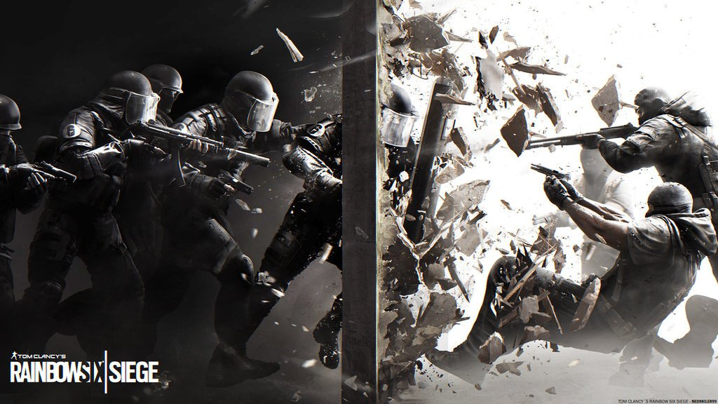 Rainbow six siege hd wallpapers wallpapersafari for Fond ecran r6