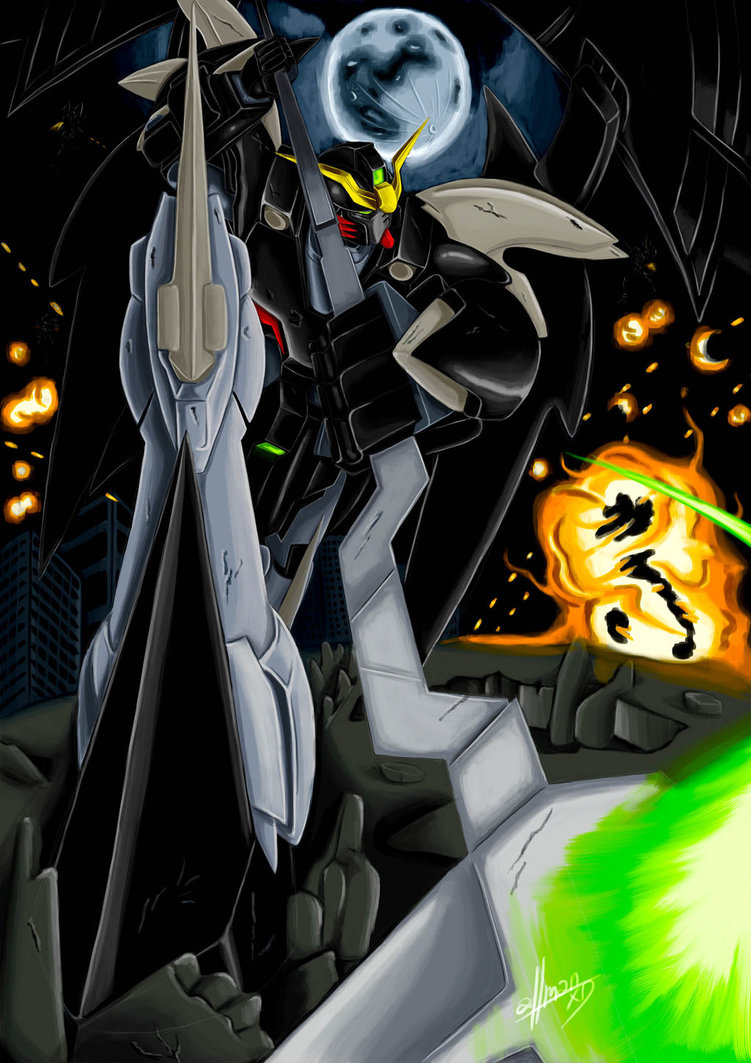 Gundam Deathscythe Wallpaper High Quality at Movies Monodomo 751x1063
