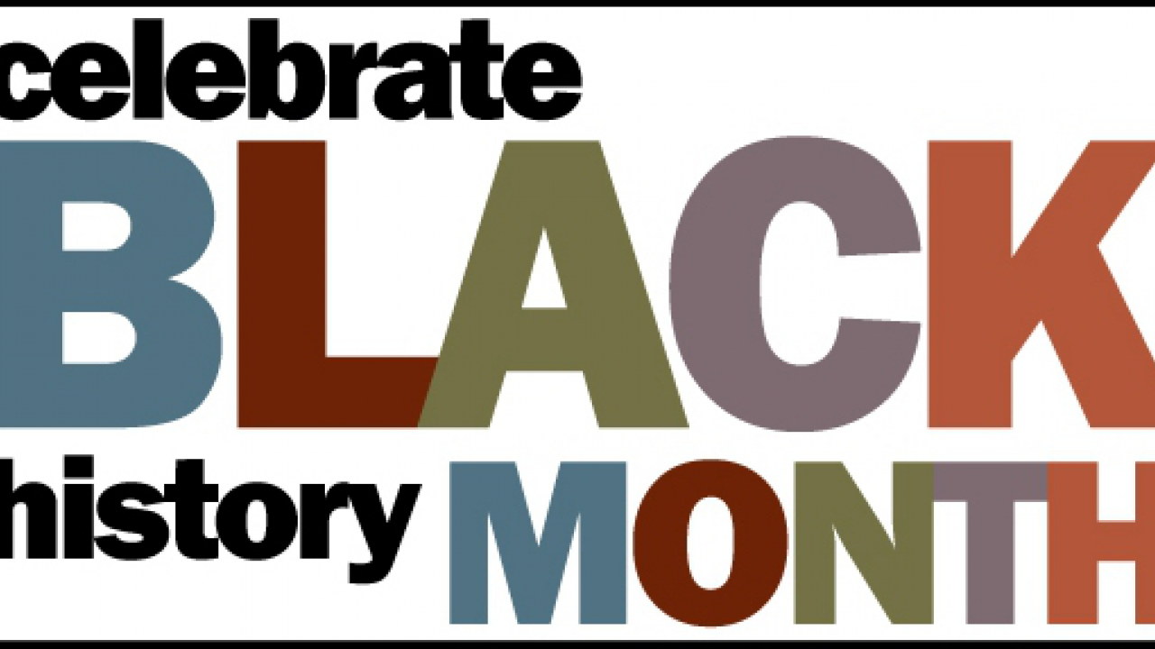 Black History Month 2020 Clipart 1280x720