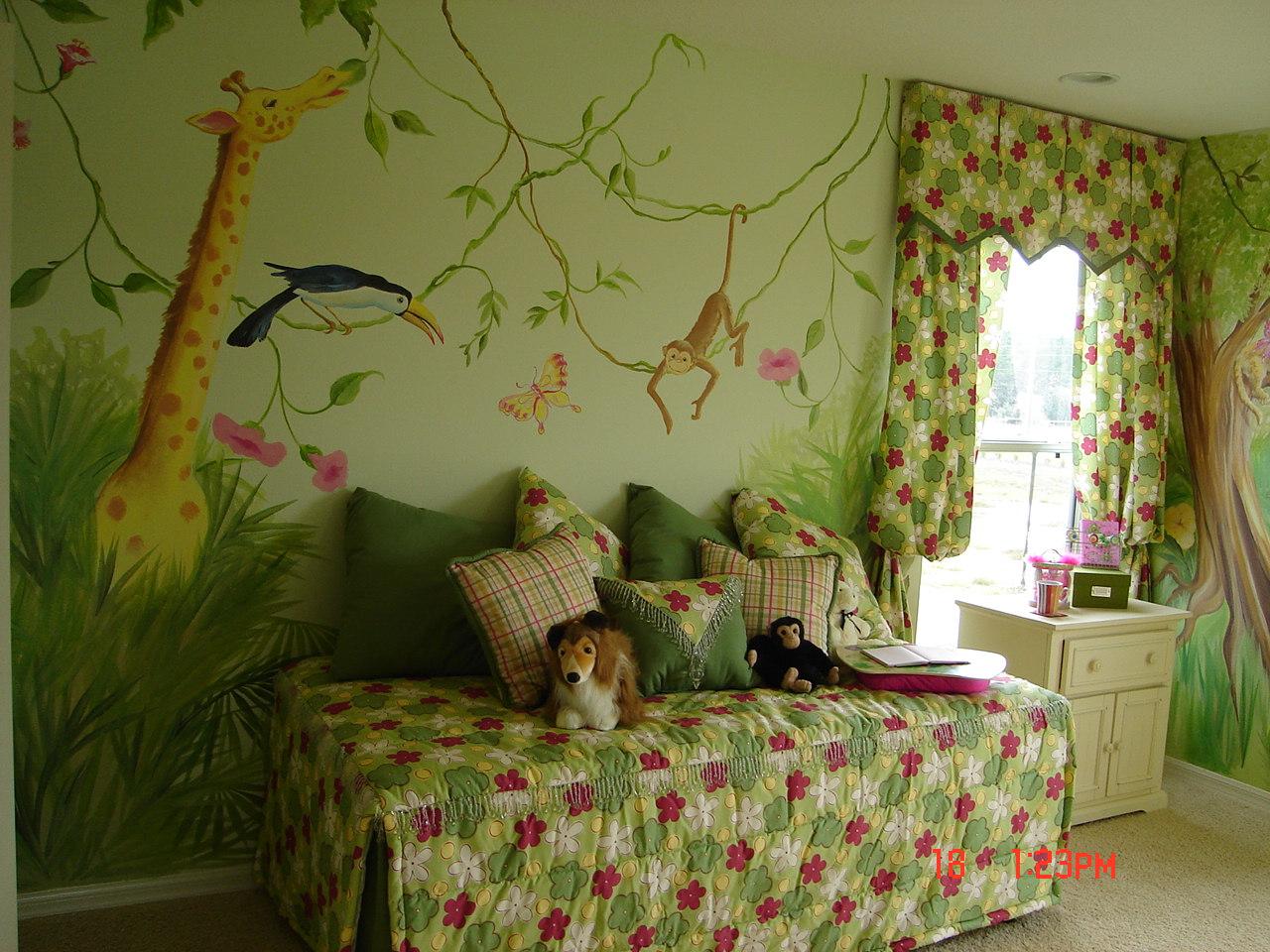 48 Jungle Wallpaper For Kids Rooms On Wallpapersafari