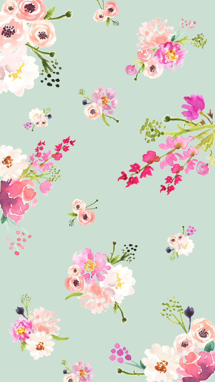 Cute Spring Phone Desktop and Zoom Backgrounds   Love and 750x1333