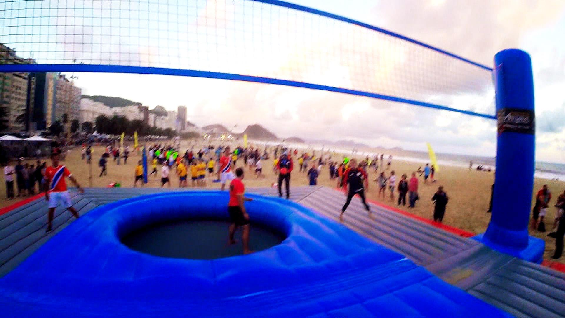 What is bossaball See TODAY anchors compete on inflatable court 1920x1080