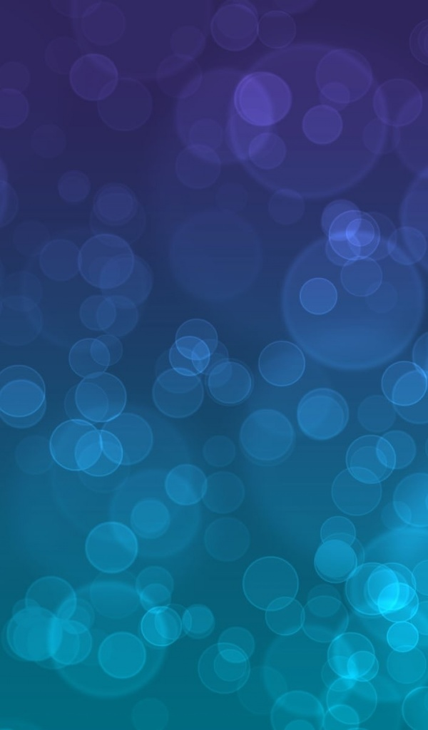 600x1024 Bubbles Purple & Blue Galaxy tab 2 wallpaper