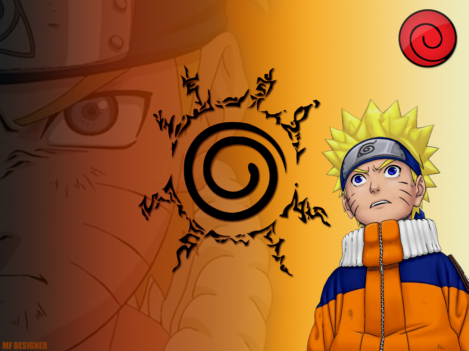 Naruto Nine Tails Seal wallpaper 82295 1600x1200