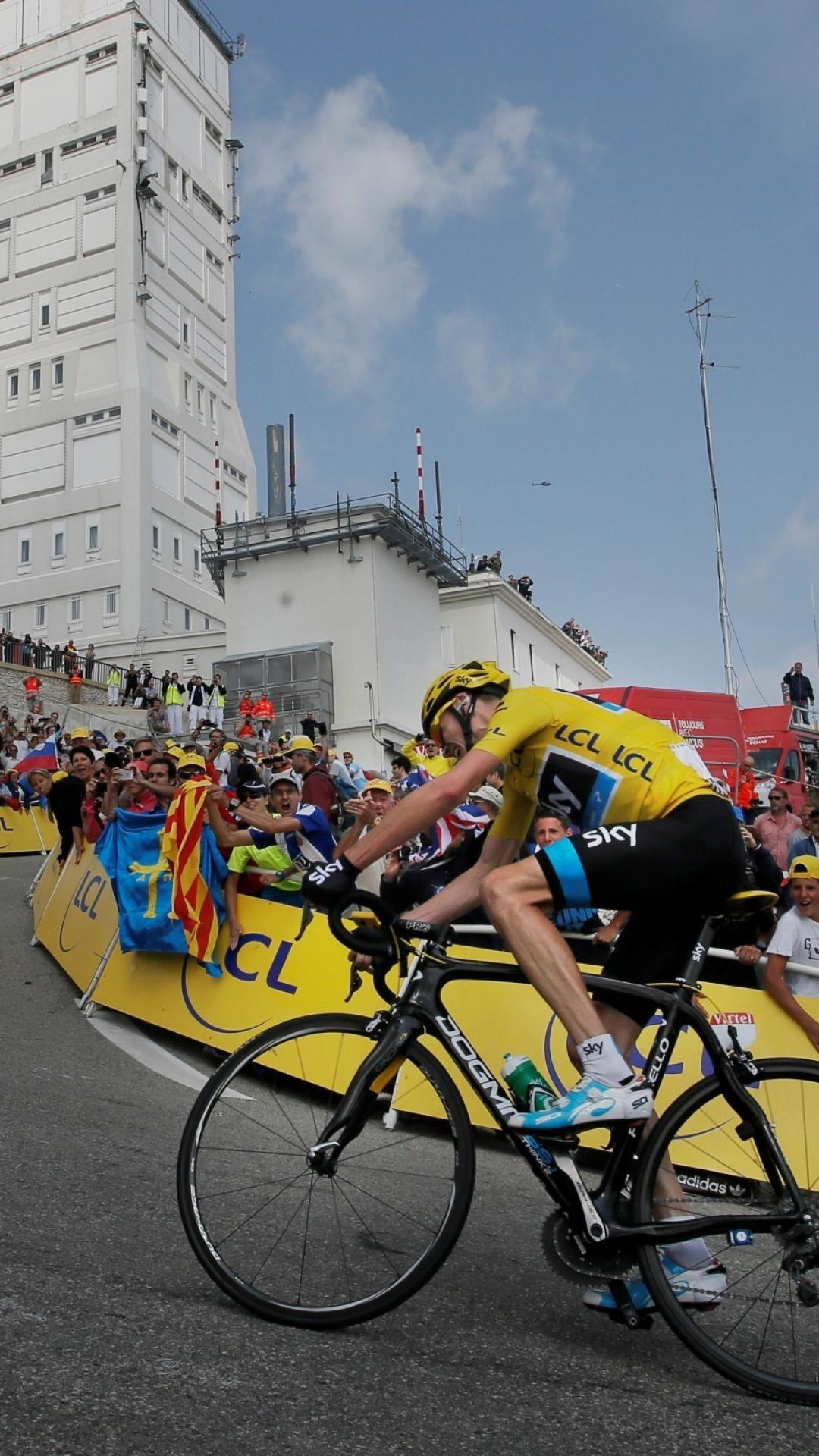 Mont ventoux tour de france cycling sports wallpaper 1080x1920