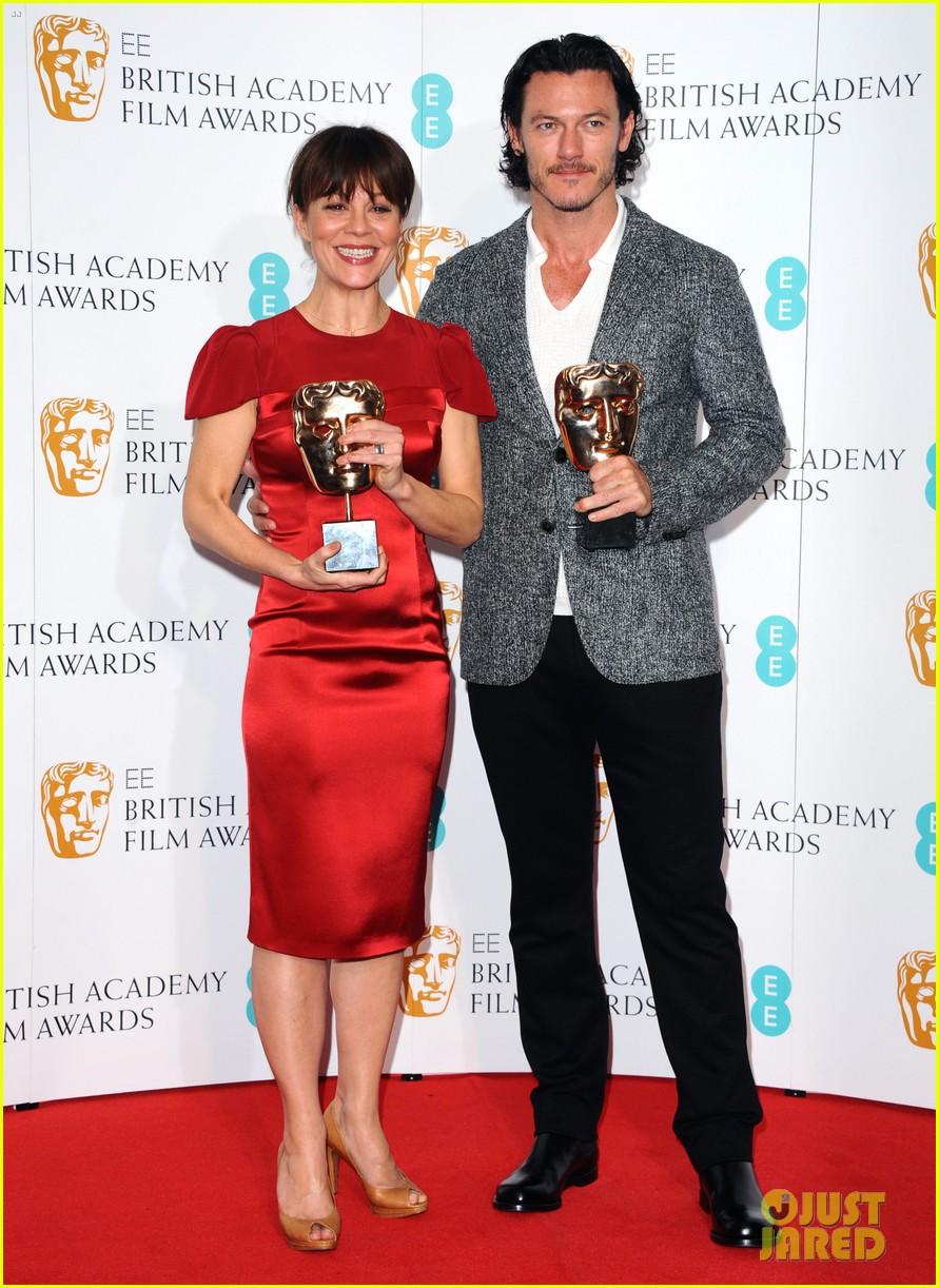 Luke Evans Helen Mccrory Bafta 2014 Film Awards Auto 891x1222