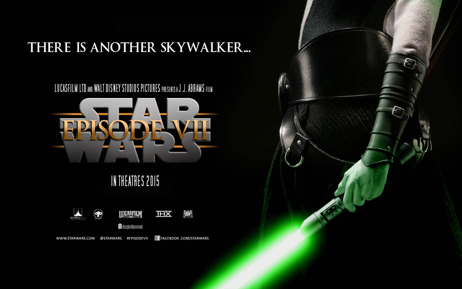 Star Wars The Force Awakens Movie Poster   Wallpaper 5220 on 1600x1000